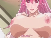 Play Pink Hair Hentai Girl Forces Her Pussy On Him