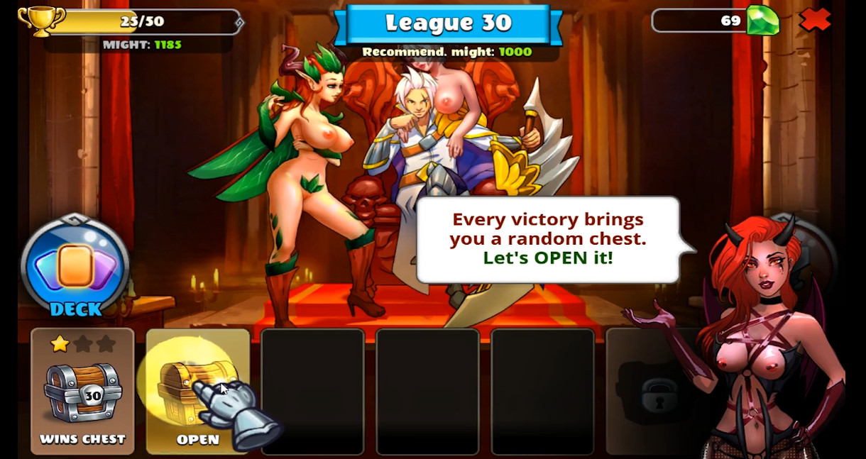Action Porn Games chick wars game review